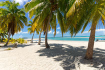 One Foot Island, Aitutaki, Cook Islands, Südsee von globusbummler