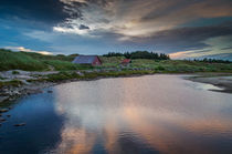 Dünen im Sonnenuntergang, Norwegen von globusbummler