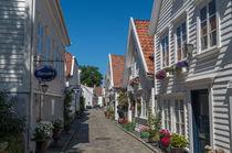 Altstadt Gamle Stavanger, Norwegen von globusbummler