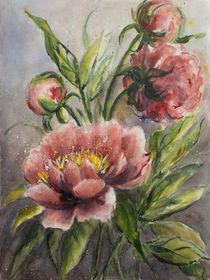 'Blumenmalerei - Pfingstrose' von Chris Berger