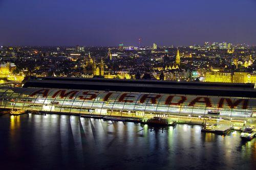 Amsterdam-von-oben