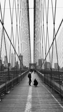 brooklyn bridge by emanuele molinari