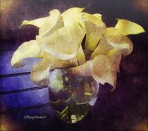 Callalily's for Easter  copyright Mary Lee Parker 17, by Mary Lee Parker