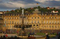 Neues Schloss, Stuttgart, Baden-Württemberg, Deutschland, Europa von Torsten Krüger