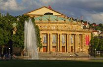 Staatstheater bei Abendsonne, Stuttgart von Torsten Krüger