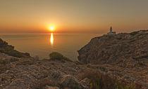 Sonnenaufgang  Far de Capdepera, Cala Ratjada von Andrea Potratz