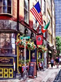 Boston MA - Restaurants on Creek Square von Susan Savad