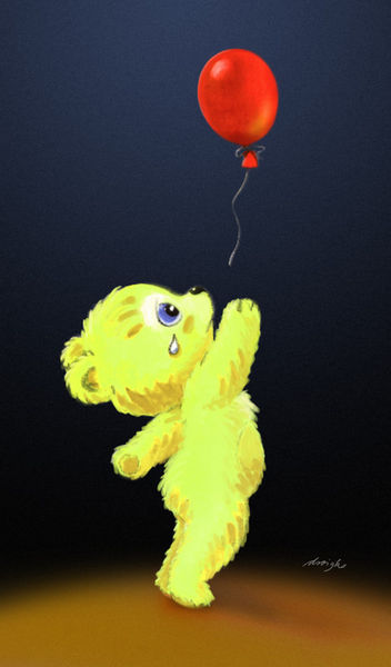 Teddy-luftballon