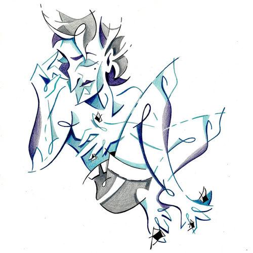 Keep-calm-think-big-sweet-dreams-illustration