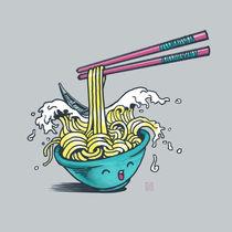 The Wave of Noodles von Claudio Nozza Art
