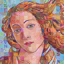 Variations On Botticelli's Venus – No. 1 by Randal Huiskens