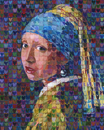 I Heart Girl With A Pearl Earring von Randal Huiskens