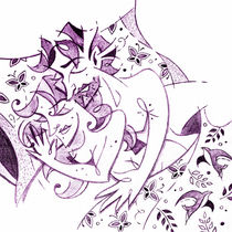 Amanti - Lovers Spring Feeling - Sweet Dreams Illustration von nacasona