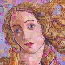 Variations On Botticelli's Venus – No. 4 (Iridescence) by Randal Huiskens