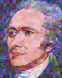 Portrait of Alexander Hamilton von Randal Huiskens