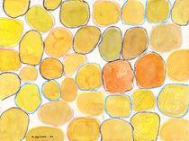 Cheerful Orange Gathering von Heidi  Capitaine
