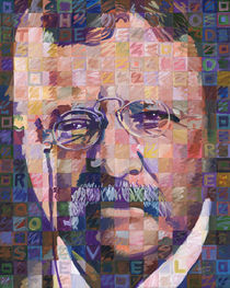 Portrait Of Theodore Roosevelt by Randal Huiskens