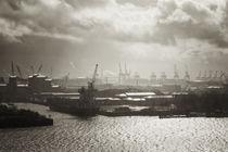 Hamburger Hafen von Hanns Clegg