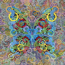 Clockwork Butterfly No. 11 by Randal Huiskens
