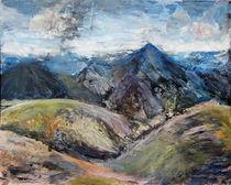 Isländische Landschaft von Renée König