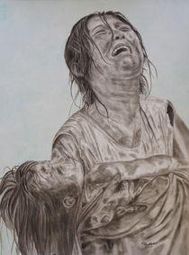 Schmerz, Wut (gegen Gott) Trauer by Helmut Hackl