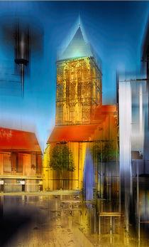 Kirchplatz in Rheine, Nordrheinwestfalen von Horst  Tomaszewski