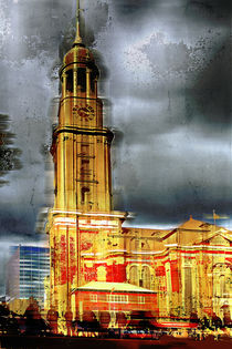 St.Michaeliskirche in Hamburg, Germany by Horst  Tomaszewski