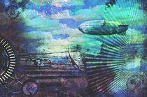 Steampunk Cloudscape by Karen Black
