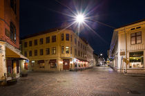 Gothenburg Haga at night von Bastian Linder