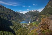 Geiranger fjord from Flydalsjuvet von Bastian Linder
