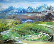 Isländische Landschaft 2 by Renée König