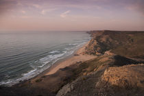 Coast and beach at Sagres at Algarve in Portugal von Bastian Linder