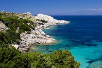 Beach in Sardinia Capo Testa von Bastian Linder