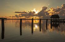 Früh morgens am Hemmelsdorfer See von Andrea Potratz