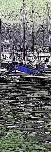 Schiff im Eishafen von Edmond Marinkovic
