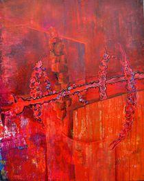 Abstraktes 005 - Twauba von Matthias Kronz
