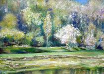 Frühling an der Elbe by Renée König