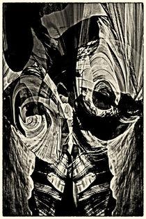 'Black painting - Schwarzmalerei' von Chris Berger