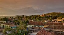 Trinidad during sunset, Cuba von Bastian Linder
