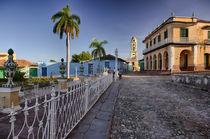Plaza Mayor Trinidad, Cuba by Bastian Linder