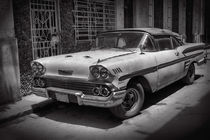 Old car, Havanna Cuba by Bastian Linder