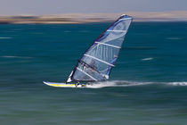 Windsurfing in Egypt by Bastian Linder