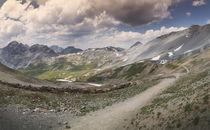 Mountain chain Bocchetta di Forcola, Ortler von Bastian Linder