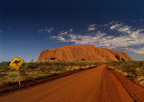 Outback Australia with Uluru by Bastian Linder