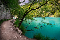 Way in national park Plitvice Lakes von Bastian Linder