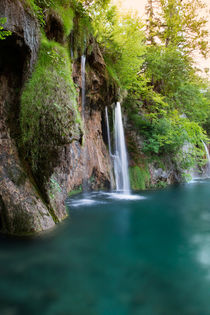 Waterfall in national park Plitvice Lakes von Bastian Linder