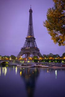 Eiffel Tower in sunrise at Seine, Paris von Bastian Linder