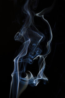 Blue smoke by Bastian Linder