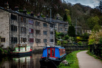 Canal side residences by Colin Metcalf