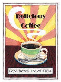 Delicious Coffee by Colette van der Wal